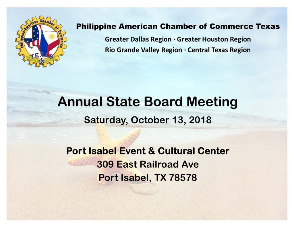 State Meeting Flyer